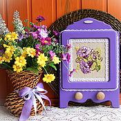 Для дома и интерьера handmade. Livemaster - original item Kitchen towel rack