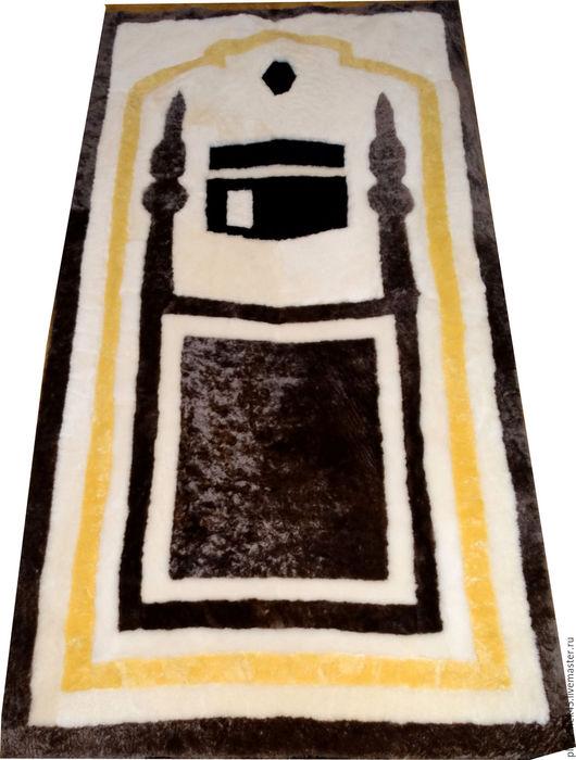 """Текстиль, ковры ручной работы. Ярмарка Мастеров - ручная работа. Купить Молитвенный коврик """"Намазлык"""". Handmade. Коричневый, молитва, коврик"""
