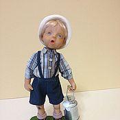 """Куклы и игрушки ручной работы. Ярмарка Мастеров - ручная работа """"А мама сказала - деньги в бидоне..."""". Handmade."""