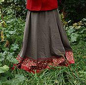 """Одежда ручной работы. Ярмарка Мастеров - ручная работа Осенняя юбка """"Сотофа"""". Handmade."""