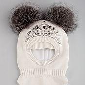 Аксессуары ручной работы. Ярмарка Мастеров - ручная работа Шлем ALEKSA SH-KR-1 (Белый). Handmade.