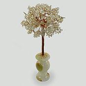 Цветы и флористика handmade. Livemaster - original item Tree of rock crystal