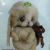 """Куклы и игрушки ручной работы. Ярмарка Мастеров - ручная работа Зайка """"Брусничка"""". Handmade."""