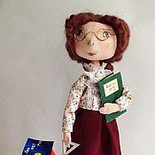 Куклы и игрушки ручной работы. Ярмарка Мастеров - ручная работа Учительница математики. Handmade.