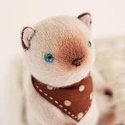 Куклы и игрушки ручной работы. Ярмарка Мастеров - ручная работа Котик сиамский.. Handmade.