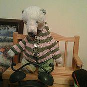 Куклы и игрушки ручной работы. Ярмарка Мастеров - ручная работа Кофточка для тедди 6. Handmade.