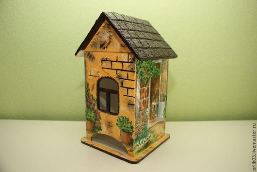 """Кухня ручной работы. Ярмарка Мастеров - ручная работа. Купить Чайный домик """"Цветущий дворик-2"""". Handmade. Чайный домик"""