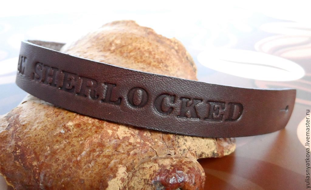 Order Personalized Leather Bracelet Text Name Made In Rainbow