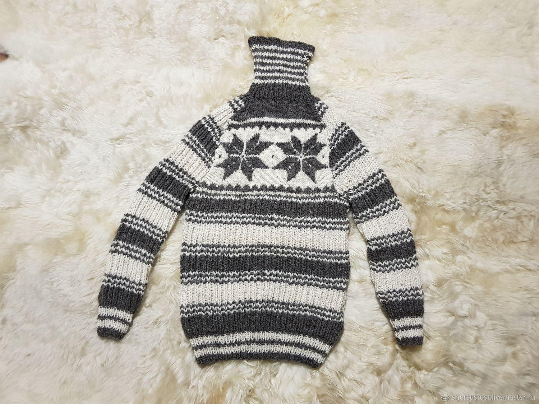 6877d111147 Шерстяной свитер со снежинками. Размер 50-52 – купить в интернет ...