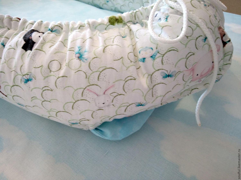 Как сшить гнездышко для новорожденных фото 778