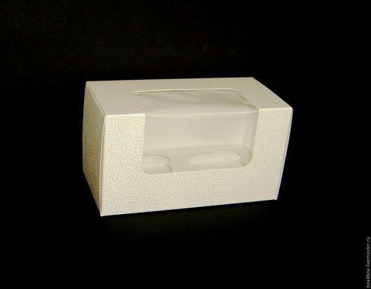 Упаковка ручной работы. Ярмарка Мастеров - ручная работа. Купить Коробочки для капкейков. Handmade. Белый, упаковка, упаковка для подарка