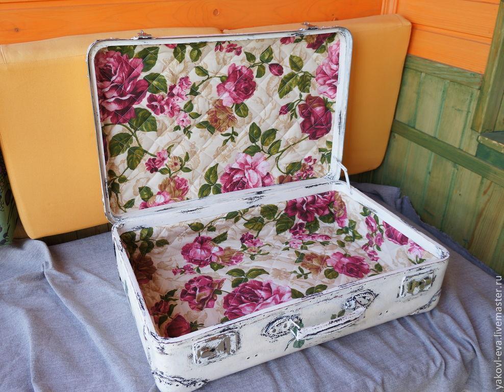 Декор чемодан своими руками 510