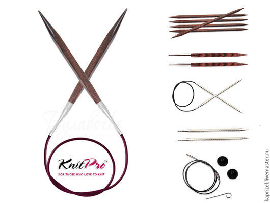 Вязание ручной работы. Ярмарка Мастеров - ручная работа. Купить Спицы Knit Pro Cubics. Handmade. Спицы, спицы для вязания