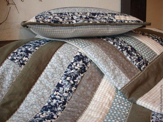 """Текстиль, ковры ручной работы. Ярмарка Мастеров - ручная работа. Купить """"Карелия. Белые ночи"""" Лоскутный комплект. Handmade. Север"""