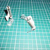 Фурнитура для шитья ручной работы. Ярмарка Мастеров - ручная работа Лапка для швейной машинки,лапка для стежки.штопки,вышивки. Handmade.