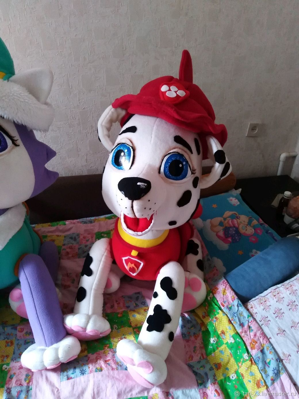 Marshal. Theatrical tablet doll rescue puppy, Puppet show, Voronezh,  Фото №1