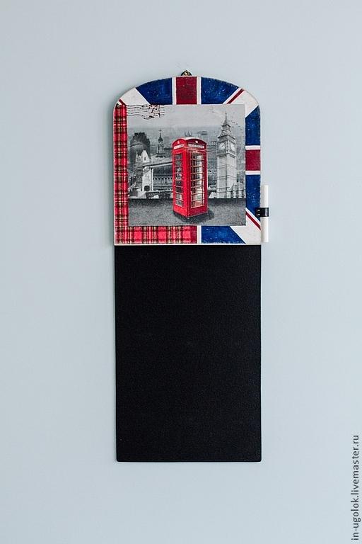 """Подвески ручной работы. Ярмарка Мастеров - ручная работа. Купить Грифельная доска """"TELEPHONE"""". Handmade. Грифельная доска, доска для мела"""
