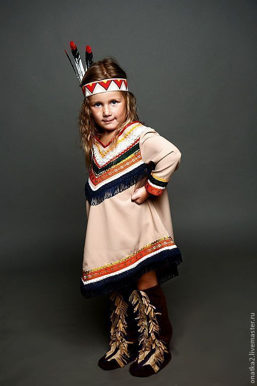 Indian girl (carnival costume), , Voronezh,  Фото №1