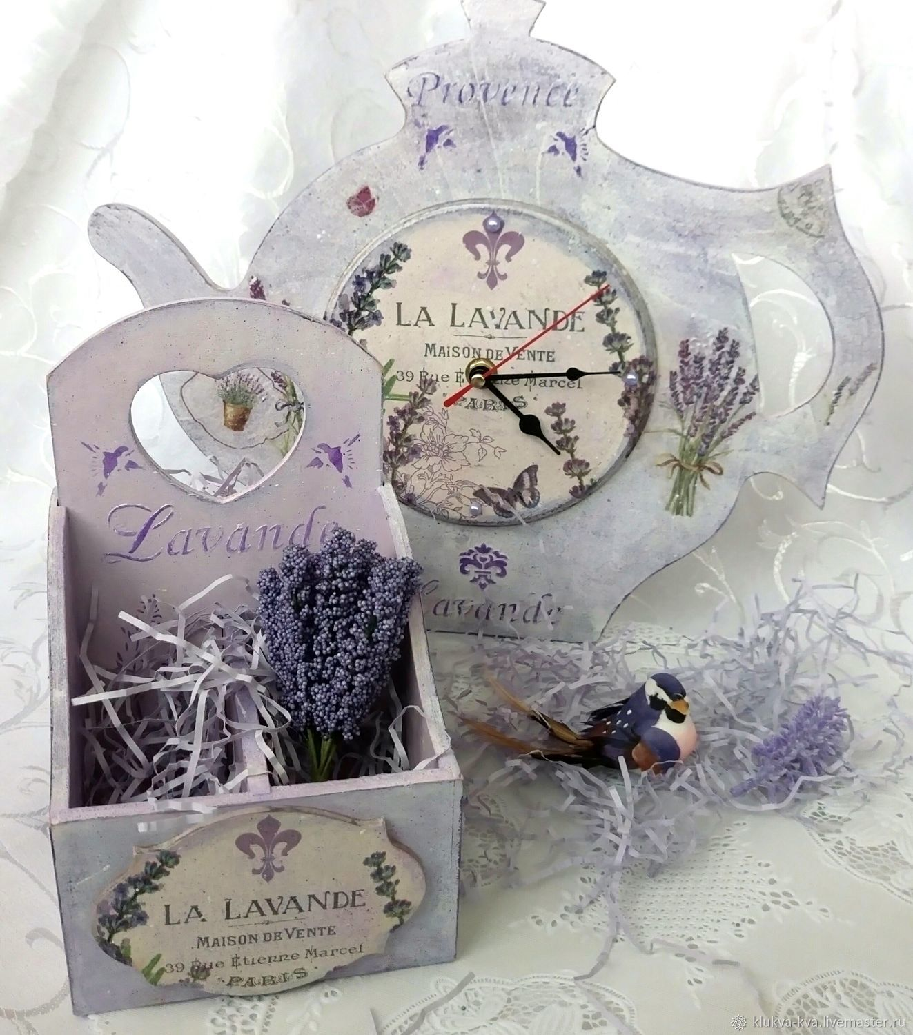 'Lavender mood' set for the kitchen, Kitchen sets, Moscow,  Фото №1