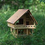 Сувениры и подарки handmade. Livemaster - original item Country house model. Handmade.