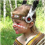 Работы для детей, ручной работы. Ярмарка Мастеров - ручная работа Индианка (карнавальный костюм). Handmade.