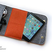 Сумки и аксессуары ручной работы. Ярмарка Мастеров - ручная работа Чехол для планшета, чехол для mini IPad. Handmade.