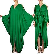 Одежда handmade. Livemaster - original item Beautiful dress. Viscose dress. Maxi dress.