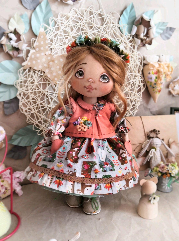 Кукла текстильная Сашенька, Куклы и пупсы, Курск,  Фото №1