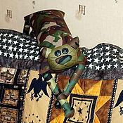 """Сувениры и подарки ручной работы. Ярмарка Мастеров - ручная работа Игрушка-подушка """"Радужный кот"""" девушки Бонда. Handmade."""