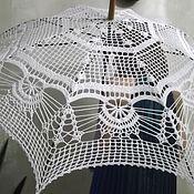 Аксессуары ручной работы. Ярмарка Мастеров - ручная работа Вязанный зонт. Handmade.