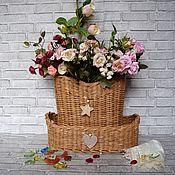 Для дома и интерьера handmade. Livemaster - original item Baskets wicker. Handmade.