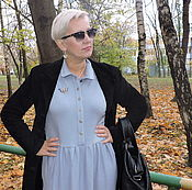 Одежда ручной работы. Ярмарка Мастеров - ручная работа Платье из кашемира. Тёплое платье .. Handmade.