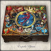 Для дома и интерьера handmade. Livemaster - original item Box of Tarot cards in