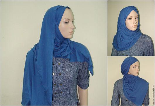 трикотажный шарф идеален для хиджаба!