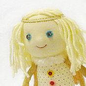 Куклы и игрушки ручной работы. Ярмарка Мастеров - ручная работа Ангел с улыбкой. Handmade.