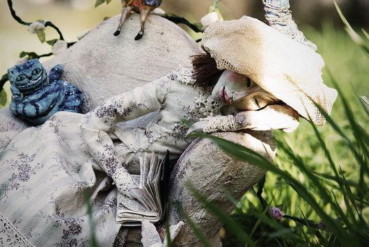 Коллекционные куклы ручной работы. Ярмарка Мастеров - ручная работа. Купить Алиса Плезенс Лиддел. Handmade. Коллекционная кукла, алиса