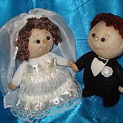 Свадебный салон handmade. Livemaster - original item the bride and groom. Handmade.