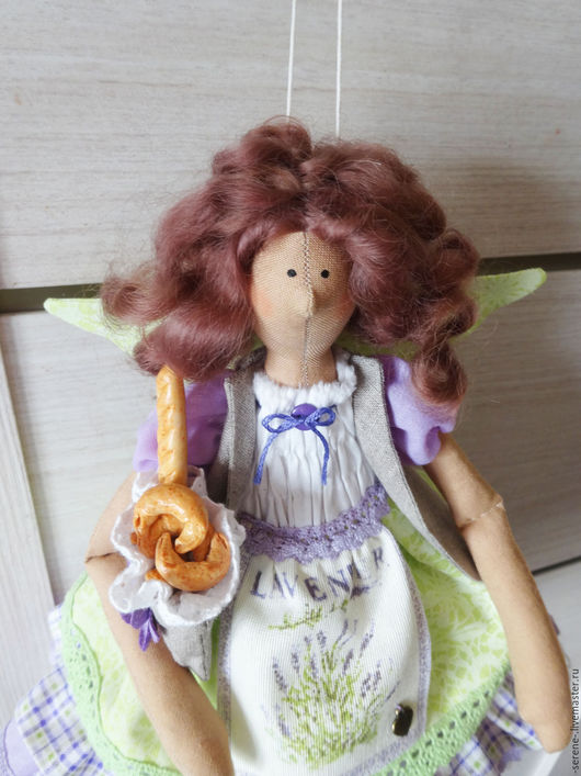 Куклы Тильды ручной работы. Ярмарка Мастеров - ручная работа. Купить Лавандовая фея Софи / Тильда ангел в стиле Прованс. Handmade.