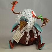 """Куклы и игрушки ручной работы. Ярмарка Мастеров - ручная работа Птица счастья """"Настоящая""""-  3. Handmade."""