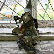 Куклы и игрушки ручной работы. Ярмарка Мастеров - ручная работа Домашний эльф Дасти. Handmade.