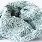 Аксессуары handmade. Livemaster - original item Scarf knitted of Alpaca wool. Handmade.