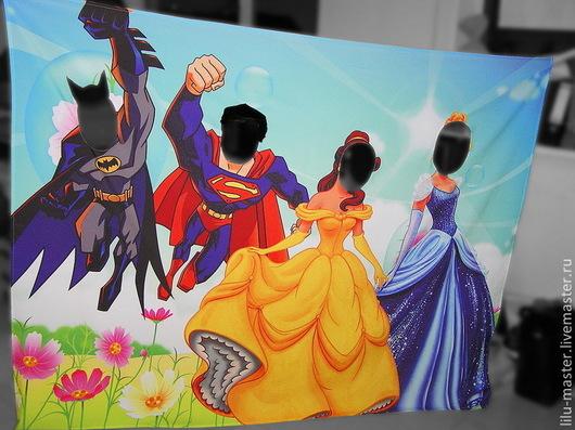 Аксессуары для фотосессий ручной работы. Ярмарка Мастеров - ручная работа. Купить Тантамареска Принцессы и Супергерои. Игровой реквизит. Handmade.