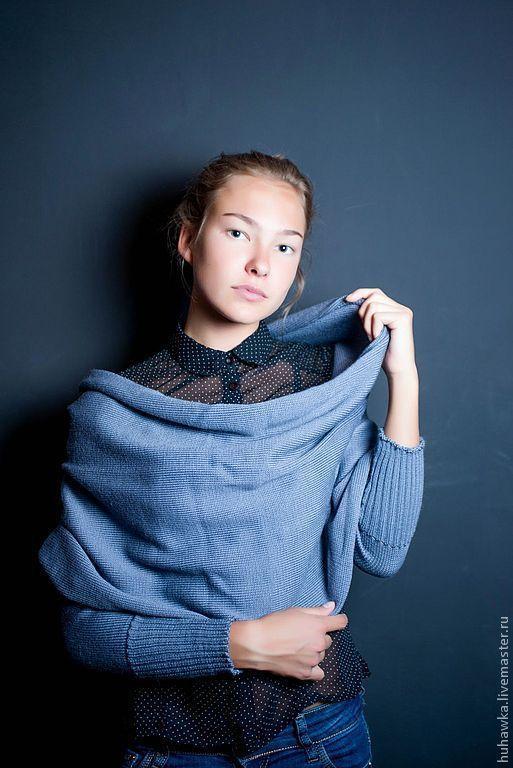 Болеро, шраг ручной работы. Ярмарка Мастеров - ручная работа. Купить Шраг вязаный  ,болеро ,рукава, шарф вязаные.. Handmade.
