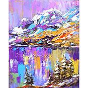 Картины и панно handmade. Livemaster - original item The picture winter