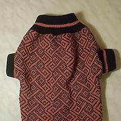 """Для домашних животных, ручной работы. Ярмарка Мастеров - ручная работа свитер """"мотив"""". Handmade."""