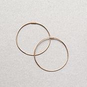 Швензы ручной работы. Ярмарка Мастеров - ручная работа Позолоченные швензы кольца серебро 925 пробы, швензы конго. Handmade.