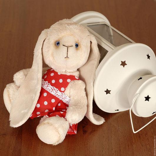 Мишки Тедди ручной работы. Ярмарка Мастеров - ручная работа. Купить Зайка Тедди Зося. Handmade. Зайка, искусственный мех