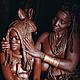 Невеста племени  Химба, Намибия.