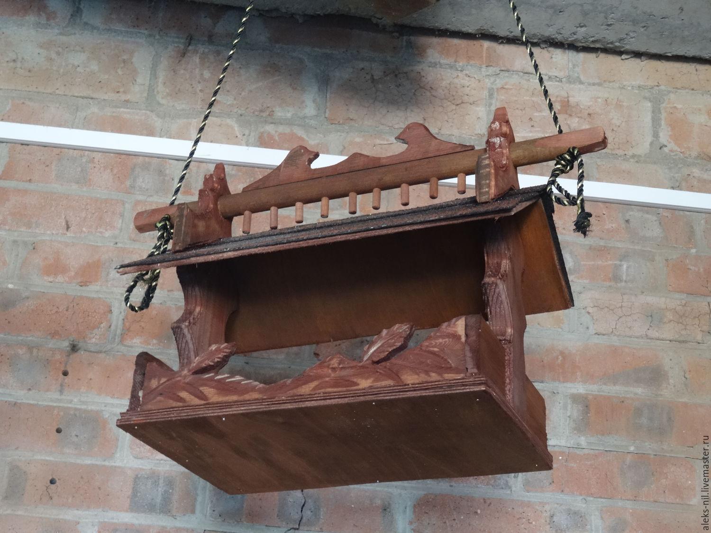 кормушка для птиц и белок из дерева зимовье заказать на ярмарке мастеров 8w0g3ru скворечники таганрог