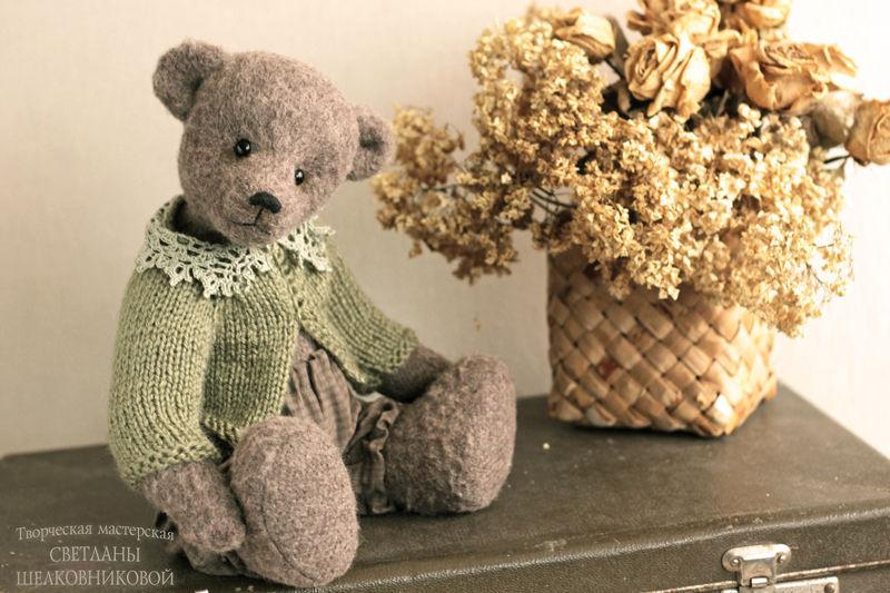 Teddys made by Svetlana Shelkovnikova  Fair masters-Teddy bear Svetlana Shelkovnikova  Teddy bear handmade.